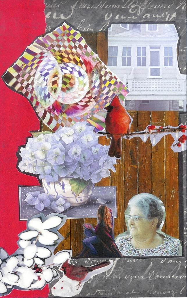 SoulCollage® Community Card for Grandma